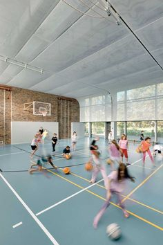 Sports Hall in Berlin ludloff + ludloff Architekten