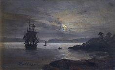 The Coast at Laurvig, Norway (J.C.C. Dahl - )1840