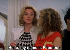 """every time Samantha Jones says """"fabulous"""" in Sex & the City City Quotes, Movie Quotes, Samantha Jones Quotes, Im Fabulous, Female Hero, Lolita, Baddie Quotes, City Aesthetic, Enfp"""