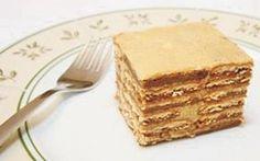 Receita Torta de Bolacha Maria, essa e mais Receitas deliciosas da Ana Maria, você só encontra aqui no site ReceitasAnaMaria.net
