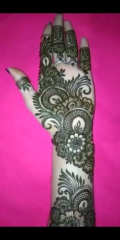 Best 11 Go to my board for latest mehndi designs….
