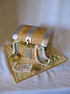 treasure chest cake   Flickr - Photo Sharing!