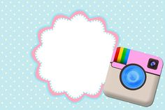 Instagram – Mini Kit com molduras para convites, rótulos para guloseimas, lembrancinhas,imagens e plaquinhas divertidas! |Fazendo a Nossa Festa
