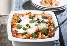 Ζυμαρικά φούρνου με σάλτσα ντομάτας και τυριά-featured_image Cookbook Recipes, Pasta Recipes, Cooking Recipes, Food Categories, Greek Recipes, Vegetable Pizza, Mashed Potatoes, Macaroni And Cheese