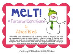 FREE Nonsense Word Fluency Game