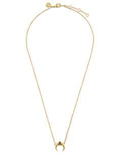Z Accessorize - Delta Horn Pendant Necklace 19.90€