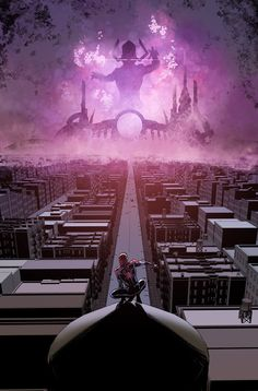 Spider-Man vs Galactus