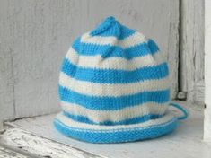 Loom Knitting by This Moment is Good! Loom Hats, Loom Knit Hat, Knitted Hats, Crochet Hats, Loom Knitting Patterns, Free Knitting, Baby Knitting, Knitting Projects, Knifty Knitter