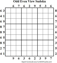 21 number game sudoku 5 x