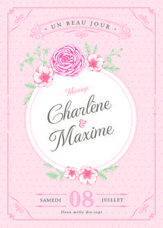 Invitation repas mariage shabby chic mariage chamax pinterest mariage shabby chic stopboris Images