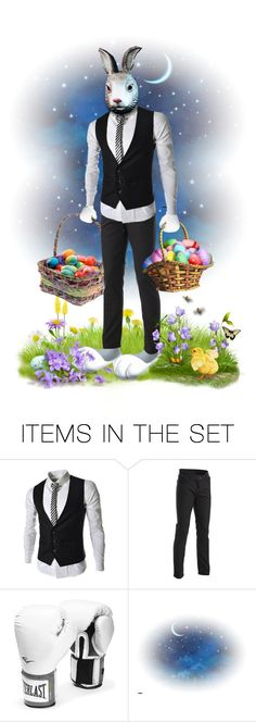 """""""Peter is serious about his new job.  :)"""" by joy2thahworld ❤ liked on Polyvore featuring art, Spring, Easter and PeterCottontail"""