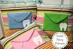 Cute Tooth Fairy Pillows