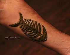 Man mehndi. Henna for men with masculine designs inspired by Celtic, tribal, and modern elements. HennaArt.ca: Man Henna