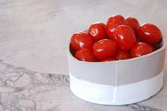 DIY bol à fruit avec