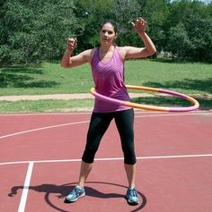 How to Use a Hula Hoop to Get Healthy