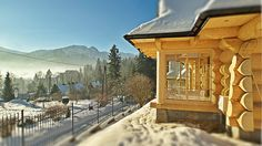 Cabin; winter cottage; zakopane; poland, wooden interior, mountains