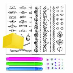 Amazon.com: Creativity for Kids Color in Tattoo Jewelry: Toys & Games