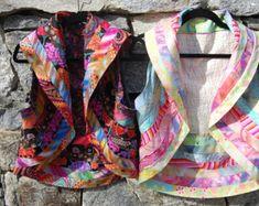 Calypso Vest- Buy this pattern at my Etsy shop: DesignsbyHeidiEmmett Boro, Clothing Patterns, Sewing Patterns, Sewing Art, Clothing Ideas, Women's Clothing, Boho Chic, Vest Pattern, Quilted Vest