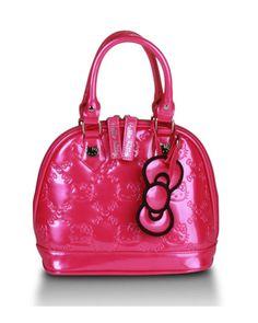 52dde2db8e Hello Kitty Mini Fuschia Pink Patent Embossed Bag Hello Kitty Purse