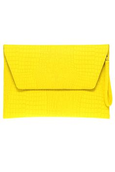 Asos Envelope Laptop Case if Faux Croc Effect $36.59 Looks like a good size for an iPad, too.