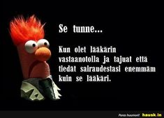 Se tunne... - HAUSK.in Funny Texts, Have Fun, Lol, Thoughts, Sayings, My Love, Words, Memes, Quotes