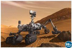 Robô Curiosity aterra com sucesso no planeta Marte