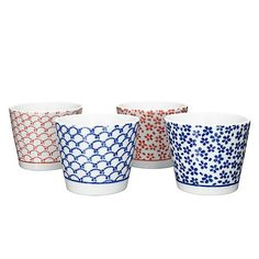 b96d14a19ac3 Buy John Lewis Oriental Tea Cups, Set of 4 Online at johnlewis.com Tea