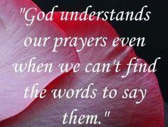 God Understands ❤