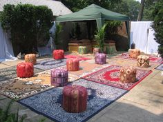 Moroccan themed party by Coco Organized Interiors + Events