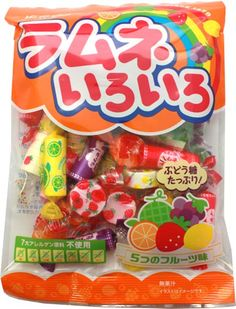 Kasugai Ramune Candy Collection $2.40 http://thingsfromjapan.net/kasugai-ramune-candy-collection/ #ramune candy #Japanese candy #Japanese snack #delicious Japanese snack