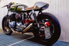 HONDA CB CAFE RACER - MOTOVELOCI - 8NEGRO