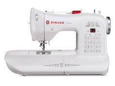 Singer ONE Sewing Machine with Built-In Needle Threader - Ideas of Sewing Machine Sewing Basics, Sewing For Beginners, Applique Designs, Embroidery Designs, Kurti Embroidery, Embroidery Boutique, Curtain Tutorial, Singer One, Brother Sewing Machines