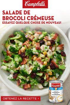 Avocado Salad Recipes, Best Salad Recipes, Lunch Recipes, Appetizer Recipes, Vegetarian Recipes, Cooking Recipes, Healthy Recipes, Campbells Recipes, Soup Dish