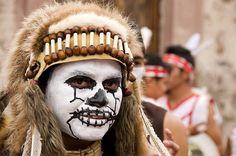 Las Mascaras de la Alborada 2011 #1  Danzante en el desfile de la Alborada, San Miguel de Allende, Guanajuato, Mexico