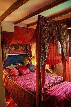 Fascinating Moroccan Bedroom Decoration Ideas 01 #moroccandecorlivingroom