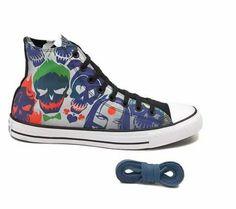 6f10387a06b8 Converse Chuck Taylor All Star Hi Suicide Squad Sneaker