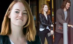 Emma Stone and Andrew Garfield certainly seem happy together