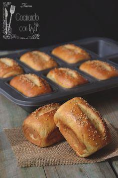 Cocinando con Kisa: Panecillos de leche y claras de huevo (KitchenAid)