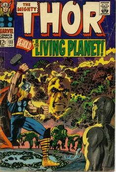 Mighty Thor # 133 by Jack Kirby & Vince Colletta