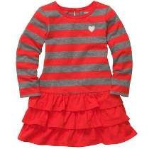 186e35e3d85 Long-Sleeve Striped Dress -  princeton vikings Ropa Americana
