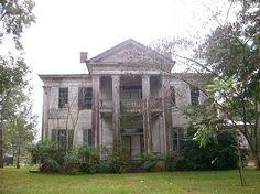 AL, Dallas County, Crumptonia Plantation, Cochran House - built in 1855