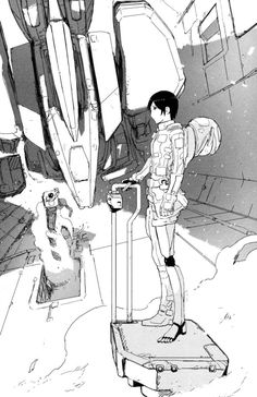 Knights Of Sidonia, Sendai, Aesthetic Images, Nice View, Manga, Artist, Room, Bedroom, Manga Anime