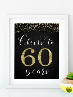 Items similar to Cheers to 40 Years, Anniversary Sign, Birthday Sign, Confetti Gold Birthday Party Decoration, Birthday décor on Etsy Happy 55th Birthday, Free Happy Birthday Cards, 40th Birthday Quotes, Happy Birthday Friend, Gold Birthday Party, Happy Birthday Messages, Happy Birthday Images, Happy Birthday Greetings, Happy Birthday Banners