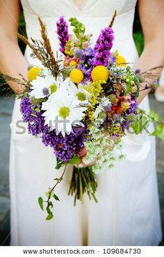 Wildflower Wedding Bouquets On Pinterest Wildflower Bridal Bouquets