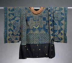 Prestige Gown, Cameroon, Grassfields region, 19th-20th century, Cotton, wool