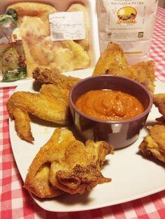 Alette croccanti con salsa bbq alla zucca - di Monida Dall'Anese #fuudly #ricette