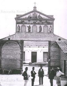 Foto storiche di Roma - San Paolo fuori le Mura