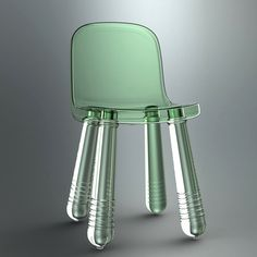 "Marcel Wanders ""Sparkling"" chair for Magis."