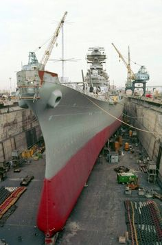 1982 drydock reactivation