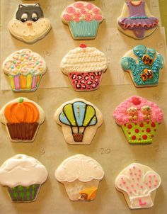 Really creative uses for a cupcake cookie cutter. My favorite is number 20, the rain cloud...how cute!